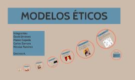 Copy of MODELOS ÉTICOS