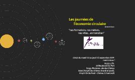 2èmes journées de l'économie circulaire UCP