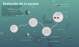 Evolución de la sonata