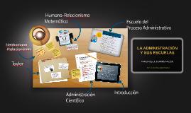 Copy of LA ADMINISTRACIÓN Y SUS ESCUELAS