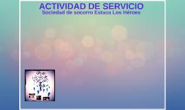 Actividad de servicio