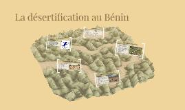 La désertification au Bénin