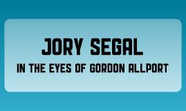 Gordon Allport - Jory Segal