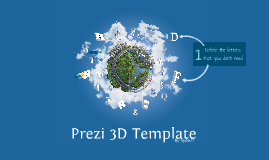 Copy of Prezi 3D TEMPLATE