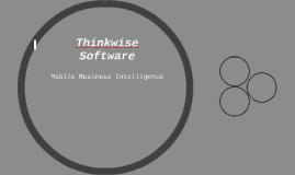Thinkwise Software Presentation