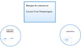 Banque de ressources