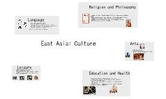 Culture in East Asia
