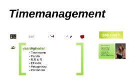 29 maart Timemanagement