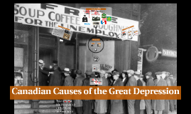 Canadian Causes of the Great Depression