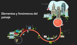 Copy of Elementos y fenómenos del paisaje