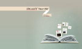 "TPCASTT ""Deer Hit"""