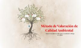 Copy of Metodo de Valoracion de Calidad Ambiental