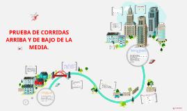 Copy of PRUEBA DE CORRIDAS ARRIBA Y DE BAJO DE LA MEDIA.