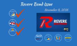 Revere Bond Issue 10.27.16