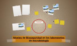 Niveles de Bioseguridad en los laboratorios de microbiología