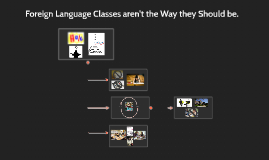 Foreign Language Classes aren't the Way they Should be.