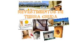 Curso UFRO: REVESTIMIENTOS DE TIERRA CRUDA