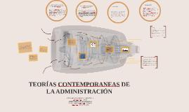 Copy of TEORIAS CONTEMPORANEAS DE LA ADMINISTRACIÓN
