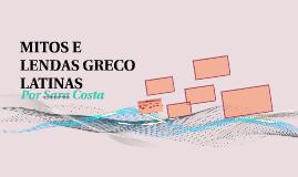 MITOS E ELNDAS GRECO LATINAS