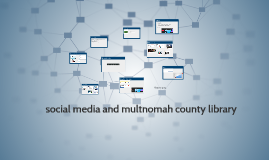 social media and multnomah county library