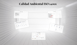 Calidad Ambiental ISO 14001