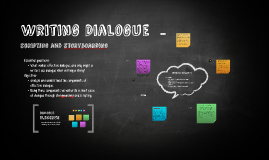 Copy of Writing Dialogue