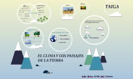 El clima y los paisajes de la tierra