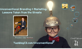 Unconventional Branding & Marketing:    Lessons Taken from the Streets