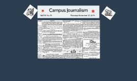 Copy of Campus Journalism