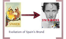 Evolution of Spain's Tourist Brand