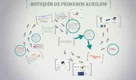 Copy of BOTIQUIN DE PRIMEROS AUXILIOS