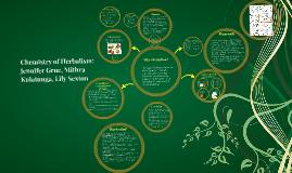Copy of Chemistry of Herbalism