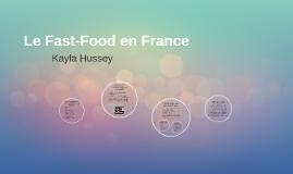 Le Fast-Food en France