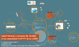 Salud Mental y Consumo de Alcohol en la comunidad LGBTTTI de