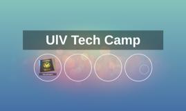 UlV Tech Camp