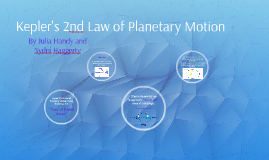Kelper's 2nd Law of Planetary Motion