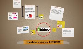 modelo canvas ARDICO