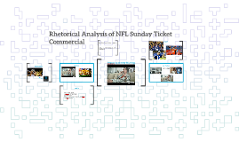 Rhetorical Analysis of NFL Sunday Ticket Commercial
