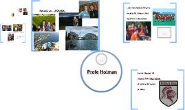 Yo Soy...Profe Holman!