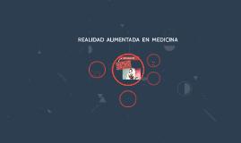 REALIDA AUMENTADA EN MEDICINA