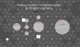 Making Content Comprehensible for English Learners