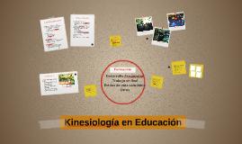 Copy of Copy of Kinesiología en Educación