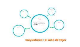 wayuukana : el arte de tejer
