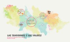 las tradiciones y los valores