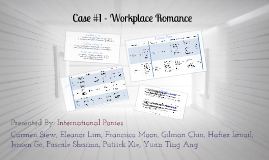 Case #1 - Workplace Romance