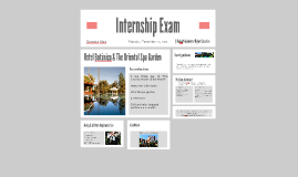Internship Exam