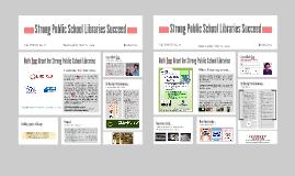 Tri-County: Strong Public School Libraries Succeed ...NJASL