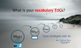 Copy of More vocabulary, better skills