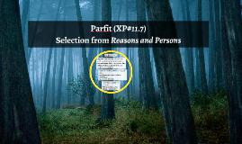 Parfit (XP#11.7)
