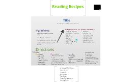 Copy of Recipes